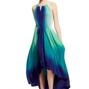 Felicity Dip Dye Silk Dress | Calypso St. Barth