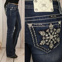 Let It Snow Bootcut Jeans - Miss Me