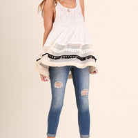 Pom Pom & Fringe Detailed Tank
