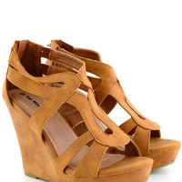 Desert Suede Tan Wedges*FINAL SALE!*