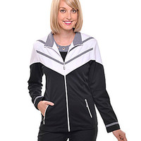 Allison Daley Colorblock-Trimmed San Remo Jacket - Black