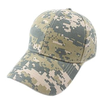 Adjustable Military Hunting Fishing Army Baseball Cap