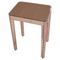 Mirrored Accent Table Copper -Threshold™ : Target