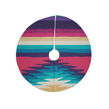 "Nika Martinez ""Surf"" Tree Skirt"