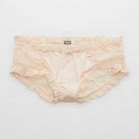 Aerie Real Obsessed™ Shine Boybrief, Faded Neon Orange