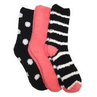 Keds Women's Supersoft Cozy Socks - 3 pack