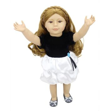 "Right Away Cute 18"" Soft Silicone American Girls Dolls"