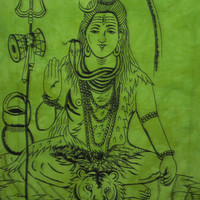 Indian God Lord Shiva Hippie Tapestries Shiv Tapestry Wall Hanging,Indian Tapestries Bohemian Tapestry Bad Cover Om shiv Wall sheet