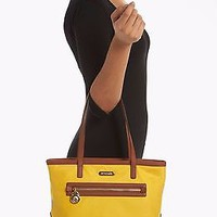NWT Michael Kors Sunflower Yellow Kempton Tote Purse