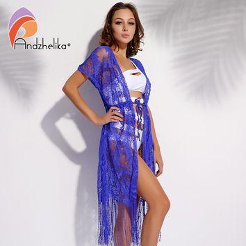 Beach Crochet Summer Hollow Out Women Sexy Bathing Swimsuit Cover Up Floral Chiffon Bikini Cover Up Dress
