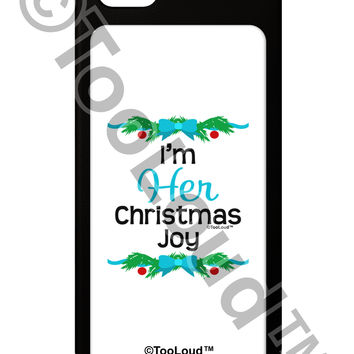 Her Christmas Joy Matching His & Hers iPhone 5 / 5S Grip Case