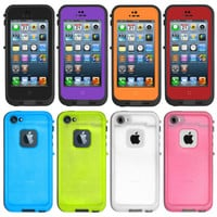 New Waterproof Shockproof Dirt Proof Durable Case Cover For Apple iPhone 5 5s
