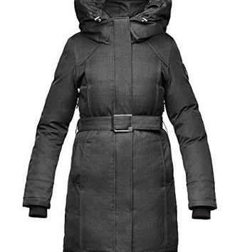 Nobis Ladies Parka ASTRID-Crosshatch Black