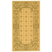 Carsen Natural/Olive Outdoor Rug