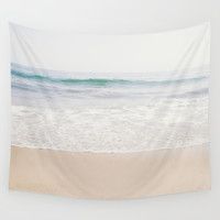 Malibu Picnic Wall Tapestry by cmcdonald