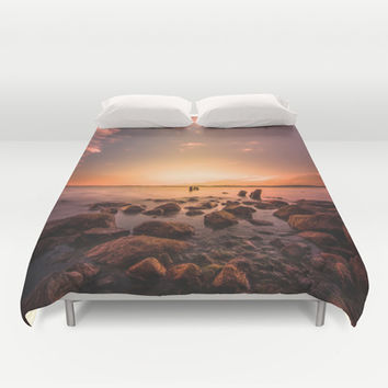 I dream of you Duvet Cover by HappyMelvin