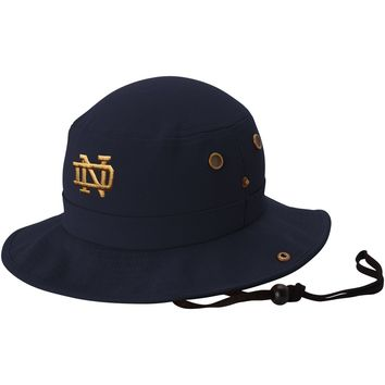 Notre Dame Fighting Irish Top of the World Angler Bucket Hat – Navy Blue