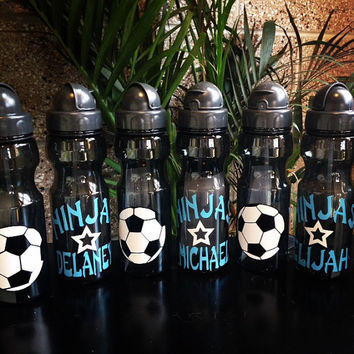 Personalized Soccer Team Water Bottle 20oz