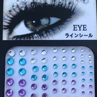 Sparkle Eyes Face Gems