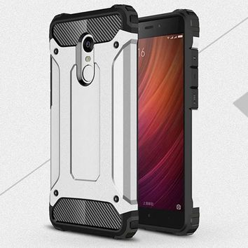 "Case for Xiaomi Redmi note 4 note 4X case with Stand Hard Rugged Impact for Xiaomi Redmi note 4 Pro prime 5.5"" Case"