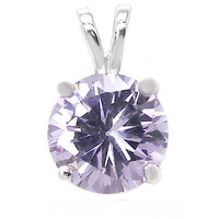 1.25 ct. Alexandrite Solitaire Pendant Necklace ~ Sterling Silver ~ Gift box