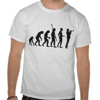 evolution trumpet more player tees from Zazzle.com