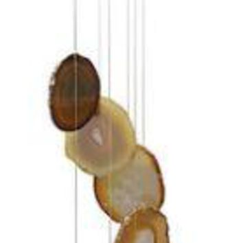 Natural Agate Windchime