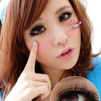 Vassen Ruby Red Circle Lenses & Colored Contacts | PinkyParadise