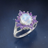 Sacred Dance Ring - New Age, Spiritual Gifts, Yoga, Wicca, Gothic, Reiki, Celtic, Crystal, Tarot at Pyramid Collection