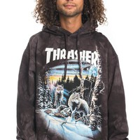 Thrasher, 13 Wolves Pullover Hoodie - Black - Thrasher - MOOSE Limited