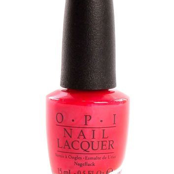 OPI Nail Lacquer - Cha-Ching Cherry 0.5 oz - #NLV12
