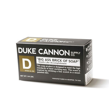 Duke Cannon Black Brick of Soap