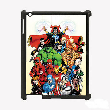 iPad 2 iPad 3 Marvel Comics Hard Case Comes in by KustomCases