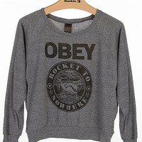 OBEY Rocket To Nowhere T-Shirt - Women's Shirts/Tops | Buckle