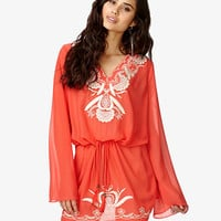 Embroidered Woven Dress | FOREVER 21 - 2038977779