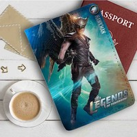 Legend of Tomorrow Hawkman Leather Passport Wallet Case Cover