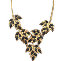 New Arrival Jewelry Stylish Shiny Gift Strong Character Leaf Fashion Necklace [6573103303]