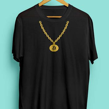 Bitcoin Gold Chain - Best Currency Internet Gold Tee  Unisex T-Shirt