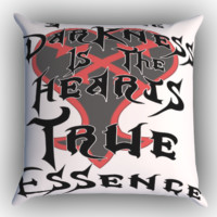 Kingdom Hearts Quote X1221 Zippered Pillows  Covers 16x16, 18x18, 20x20 Inches