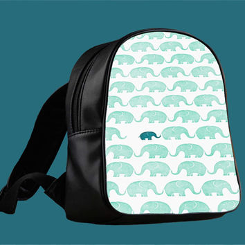 Elephants for Backpack / Custom Bag / School Bag / Children Bag / Custom School Bag *