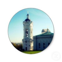 Kolomenskoye Architecture - Stickers from Zazzle.com