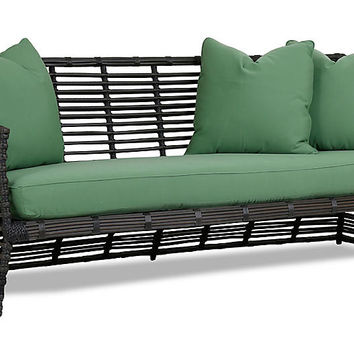 Venice Sofa, Green - Outdoor | One Kings Lane