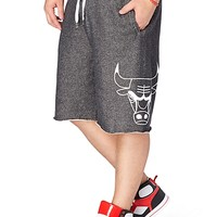 Chicago Bulls Marled Basketball Short