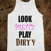 LOOK PRETTY, PLAY DIRTY - Marvel Designs