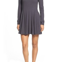 Everleigh Ribbed Sweater Dress (Regular & Petite) | Nordstrom
