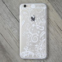 Lace Lucky Grass Cover Case for iPhone 5s 5se 6 6s Plus Gift + Gift Box-170928