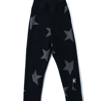 NUNUNU Black Star Leggings