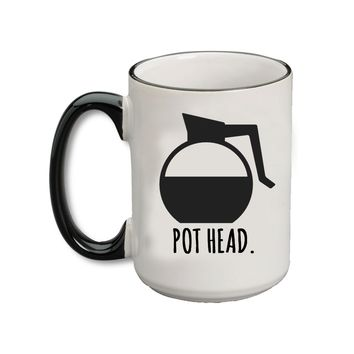 (Coffee) Pot Head Bistro Mug