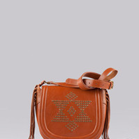 Bershka United Kingdom - Leather bag with fringes
