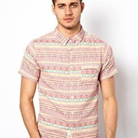 Native Youth Aztec Shirt at asos.com